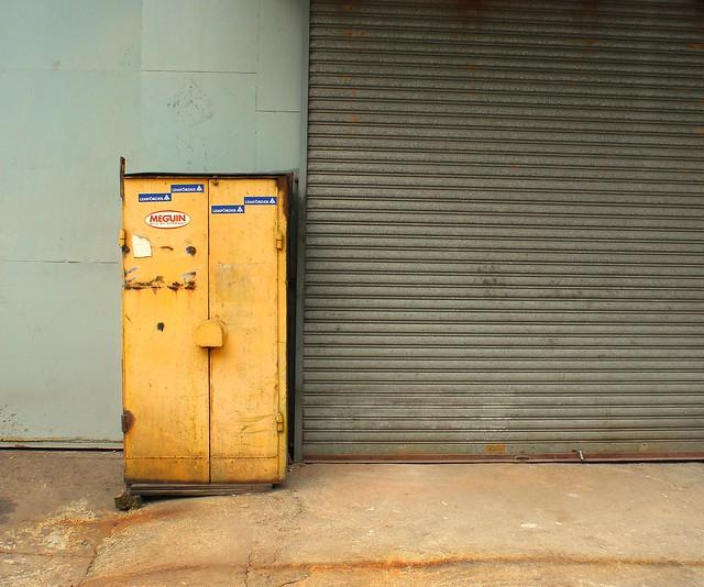 Yellow Locker