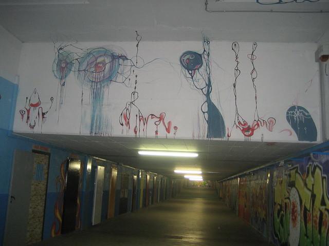 Murales stazione di San Donato Milanese