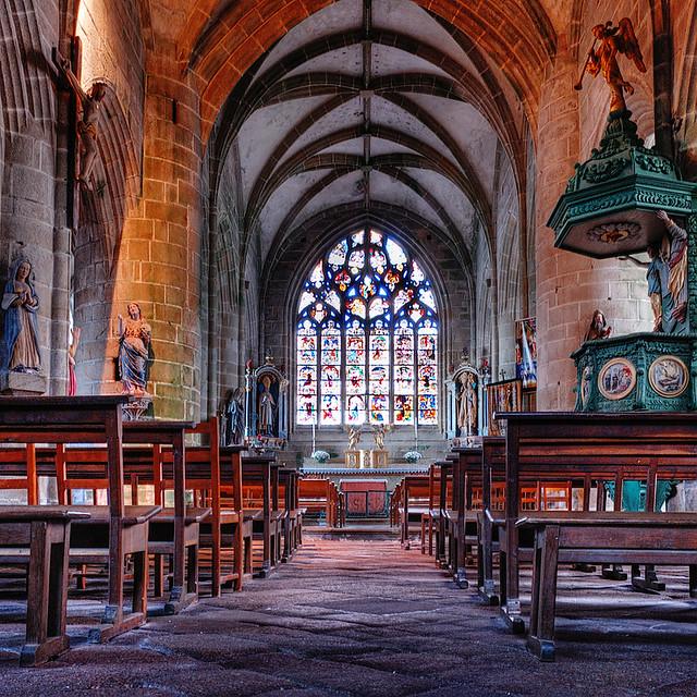 Church of Locronan | Brittany, France | davidgiralphoto.com