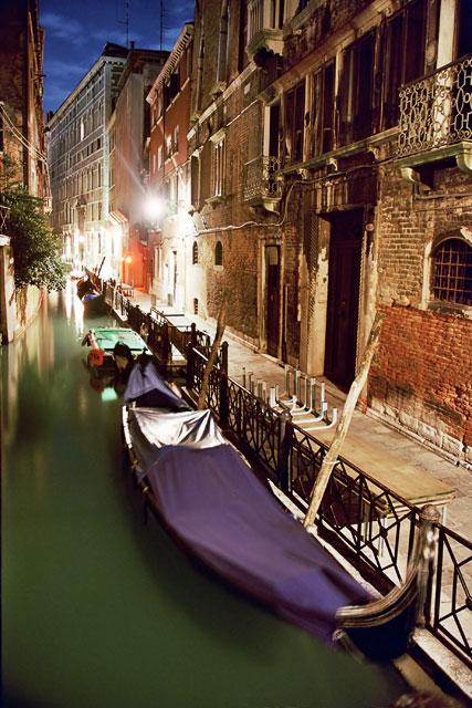 When gondolas sleep...