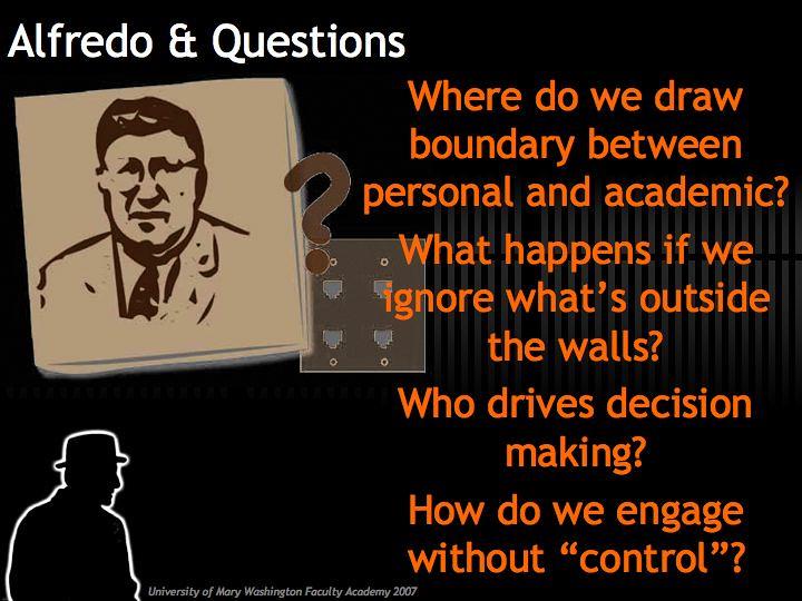 Alfredo's Questions