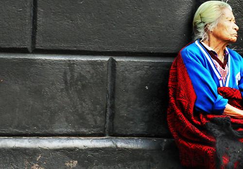 La pobreza sufre en  silencio...