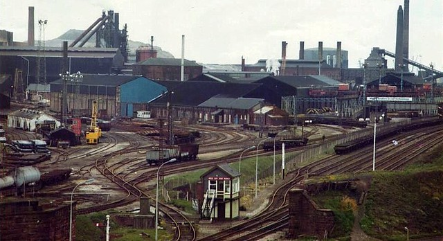 Workington Iron & Steel in the 70s