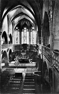 L'église d'Orgelet avant sa restauration