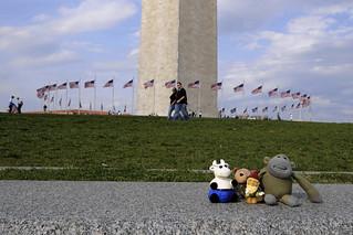The Gang at the Washington Monument