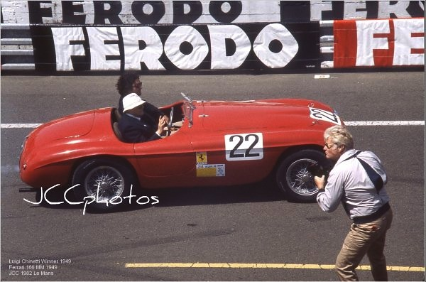 Le Mans Legend 1982 : Ferrari 166 MM 1949