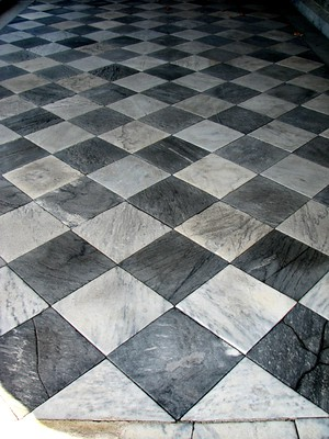 stone floor needs restoration