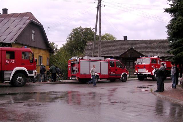 Pożar ugaszony / Fire extinguished
