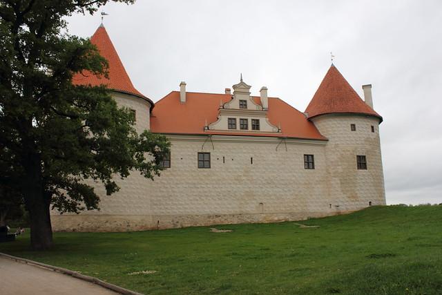 Bauska Castle | Front view