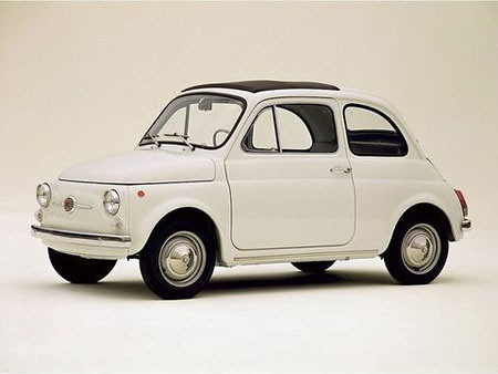 Fiat 500 Old Bshennu Flickr
