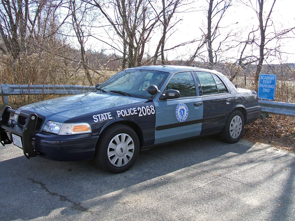 Mass State Police Car | State Police Academy | John | Flickr