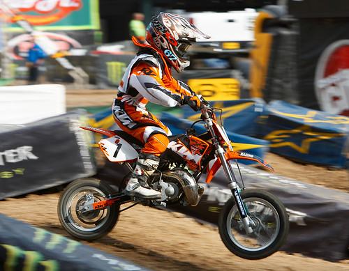 KTM Junior rider Gavin Tomberlin