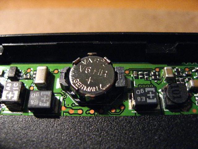 5 x Varta V6HR Backup Batteries  HP IPAQ HX4700