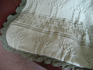 Tree of Life Afghan - Close Up | This was a HUGE project tha… | Flickr