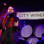 Wed, 08/02/2017 - 9:06pm - Flo Morrissey and Matthew E. White perform for WFUV Members at City Winery in New York City, 2/8/17. Hosted by Rita Houston. Photo by Gus Philippas.