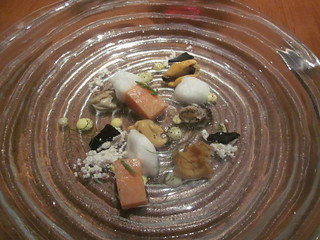 Atelier Crenn - San Francisco - June 2011 - The Sea, An Interpretation of Aquatic Flavors - Mussels, Oysters, and Artic Char | by garyalanfine