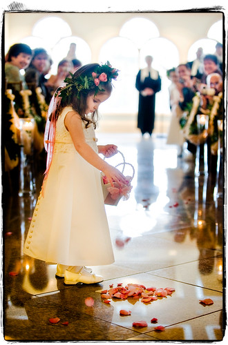 flowers wedding cute girl nikon child connecticut adorable monroe april flowergirl 2008 d3 flowerpetals waterview 70200mmf28gvr adayinthelifeofaflowergirl