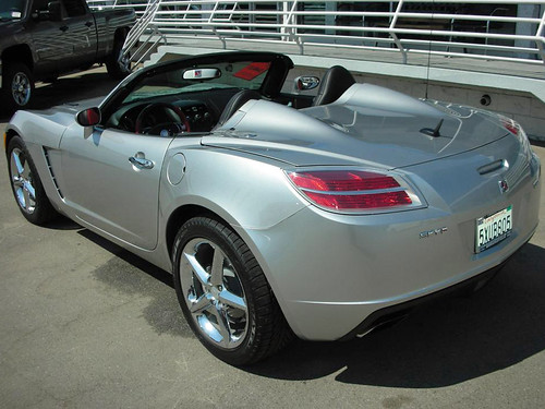 Three Way Chevrolet Bakersfield >> Work | A 2007 Saturn Sky 'Red Line' at Three Way Chevrolet ...