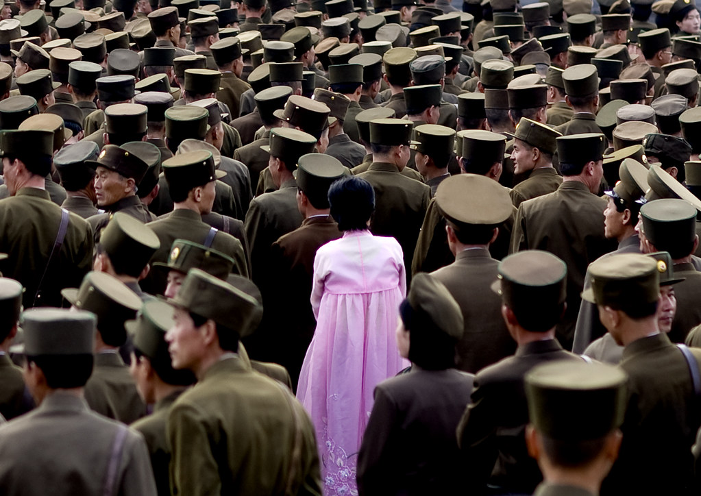 North korean army Pyongyang North Korea 북한