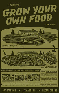 Grow Your Own Food Poster | by pjchmiel