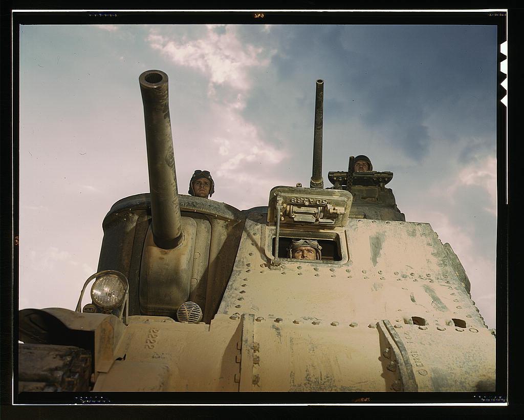 M-3 tanks and crews, Ft. Knox, Ky.  (LOC)