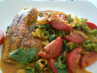 Curried Tilapia | by ljv