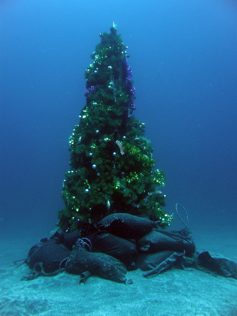 Underwater Christmas Tree Map By Alpslab Crawl Ray Flickr