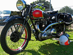 1939 Ariel Red Hunter 500