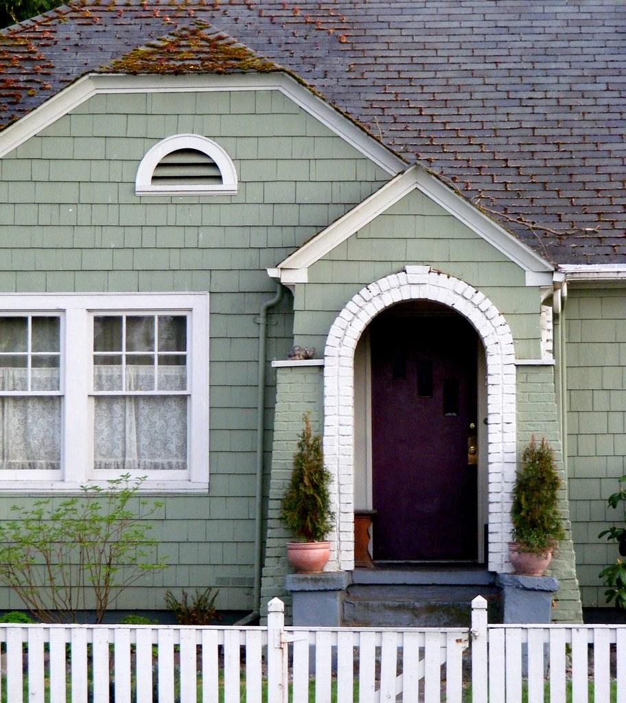 Another Purple Door Dark Purple Door And Sage Green Sidin