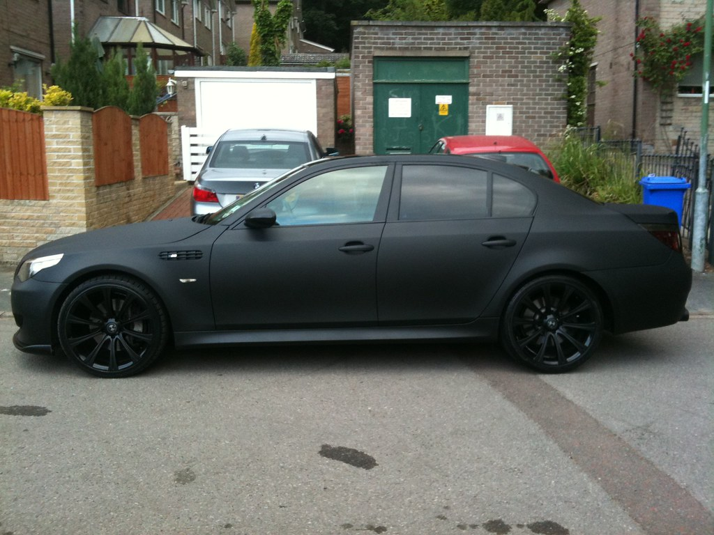 Matte Black BMW >> Matte Black Bmw E60 M5 Replica Some Pictures From An Iphon
