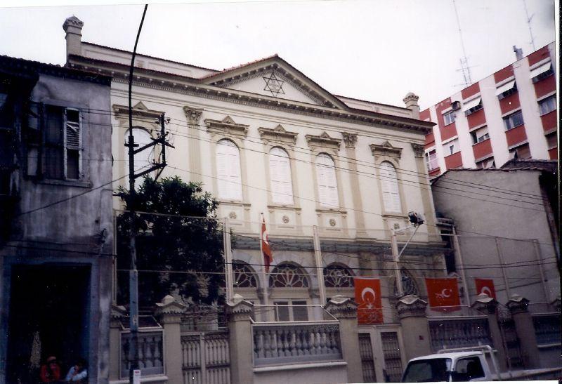 Izmir Smyrna Turkey Synagogue Jewish Scan0167 Photo Synag Flickr