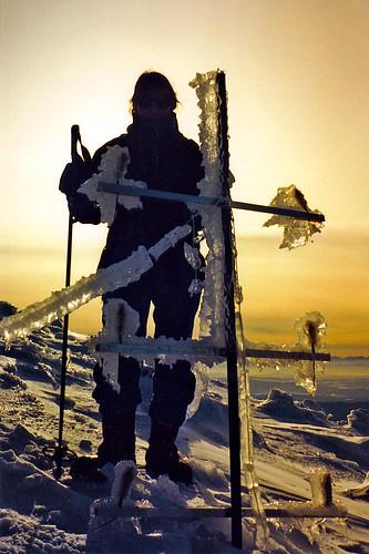 snow ice silhouette vermont jill january middlebury alpine 1992 mtmansfield otherworldly sunsetridge
