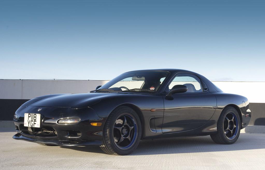 Mazda RX7 Efini Twin Turbo Black | Mazda RX7 Efini Twin Turb