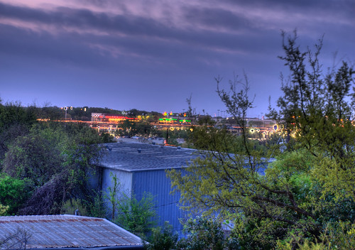 sky cloud girl clouds photoshop sunrise austin nikon skies texas balcony tx ps hdr flutter cs3 mybalcony d80 fluttergirl nikond80