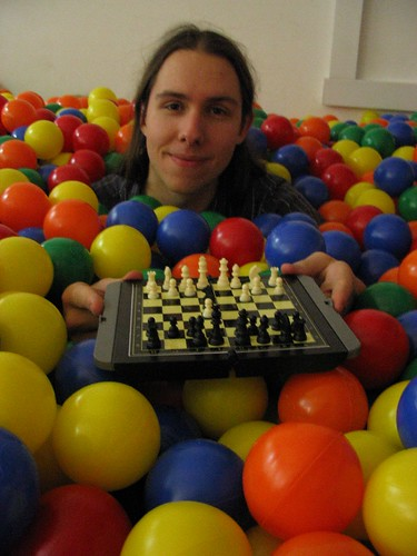 Alex enjoys his chess in the balls | by Last.fm
