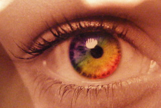 Rainbow eye | by JimmyMac210 - just returned home from hospital