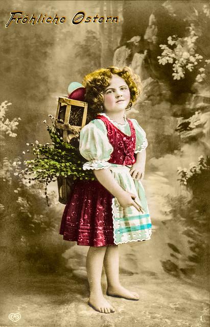 Ostergruß 1909