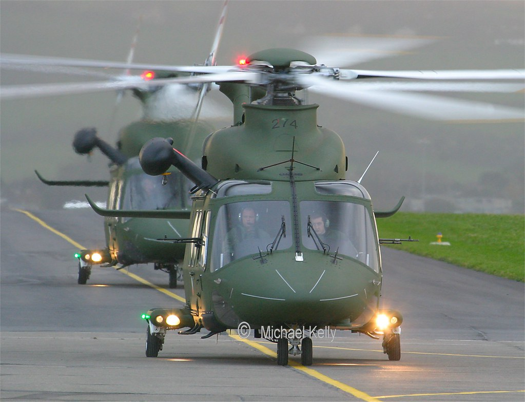 Irish Air Corps         Agusta Westland AW139      274
