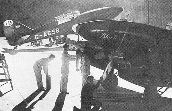De Havilland Comet Preparation