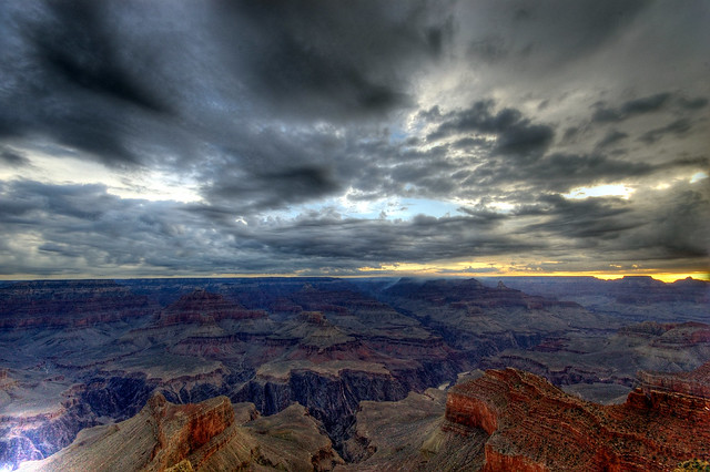 Sunrise at the Grand Canyon (HDR)