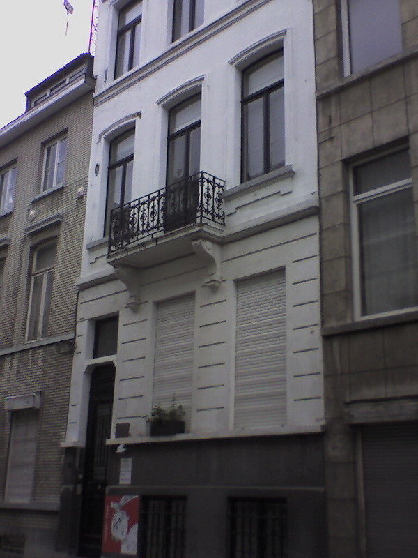 Karl Marx house, Brussels, Belgium, photo no. 4