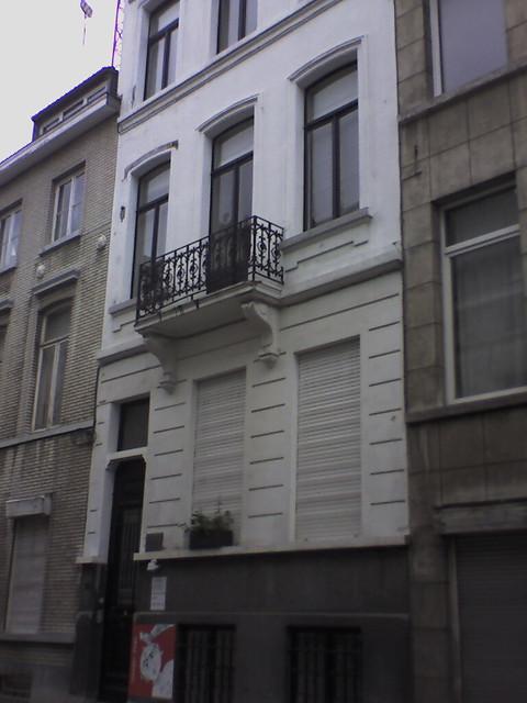 Karl Marx house, Brussels, Belgium, photo no. 4