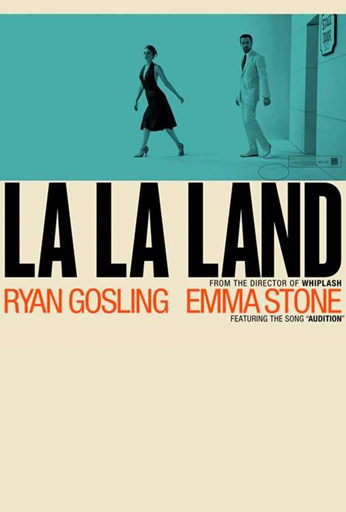 La La Land Movie Poster Advance Movie Poster For La La Lan