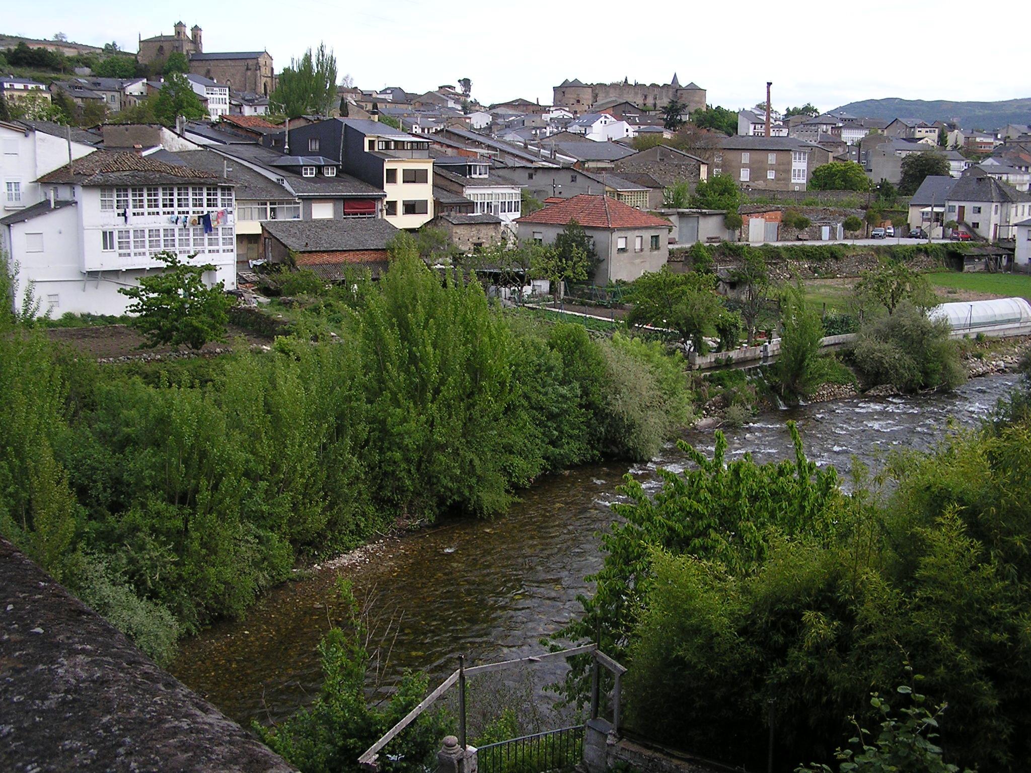 vista de Villafranca del Bierzo Leon