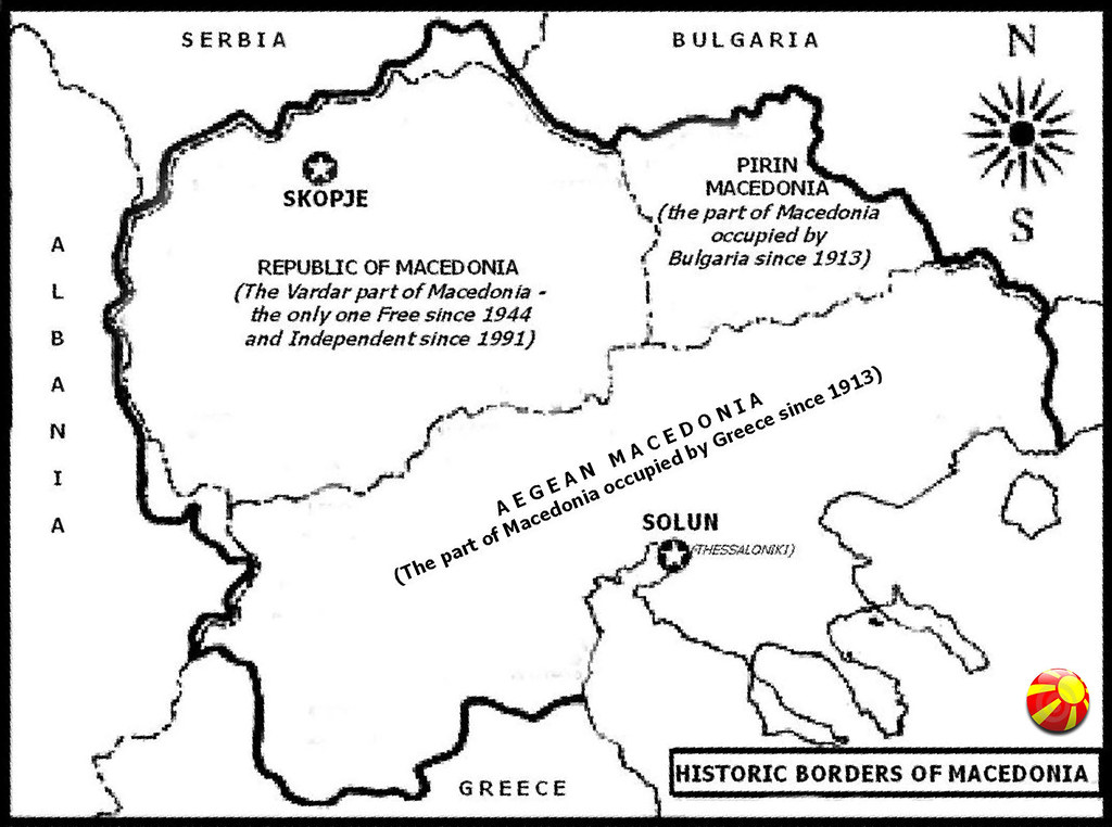 Map of Macedonia | A map of Macedonia, including the occupie… | Flickr