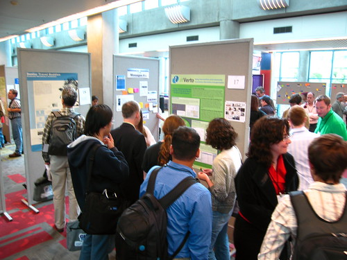 poster session. | by Sean Munson