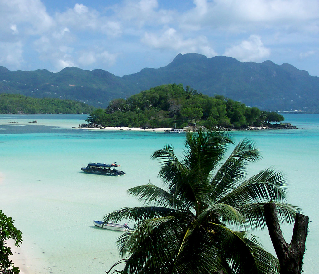 Seychelles Moyenne Island, View of Mahe Island   Moyane Isla…   Flickr