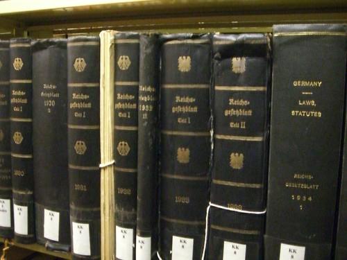 """Reichtsgesetblatt"", 1930's (German law, 1930's) | by umjanedoan"