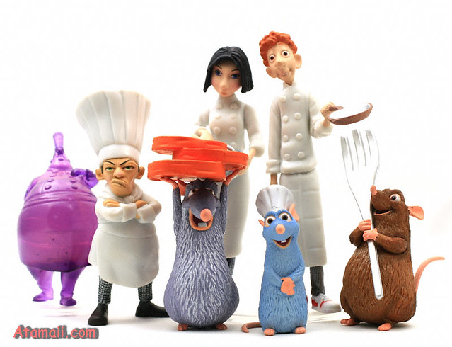 Remy And Other Characters From Ratatouille Ratatuoille Cha Flickr