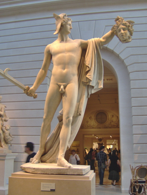 Perseus With The Head Of Medusa By Antonio Canova Perseus